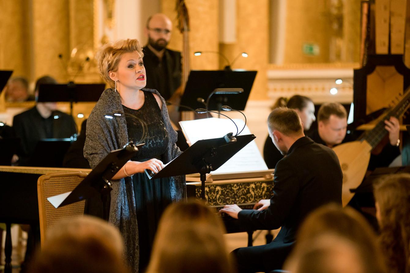 Aneta Łukaszewicz. 13.03.2019 Kantaty Bacha. Fot. Maciej Czerski