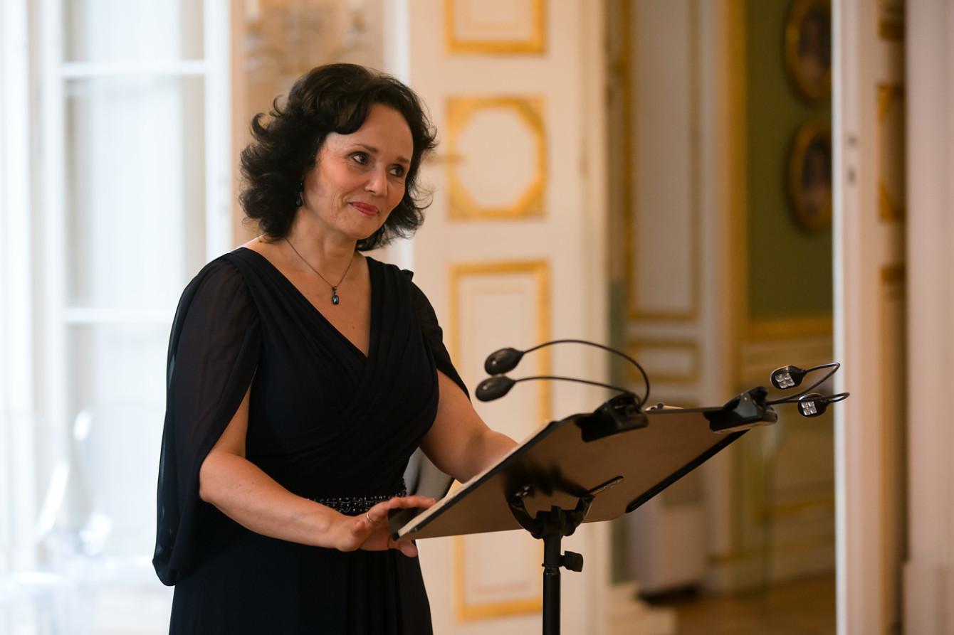 Dorota Lachowicz - mezzosopran || FESTIWAL. FRYDERYK CHOPIN – PIEŚNI I UTWORY INSTRUMENTALNE / 18.07.2019. Fot. Maciej Czerski