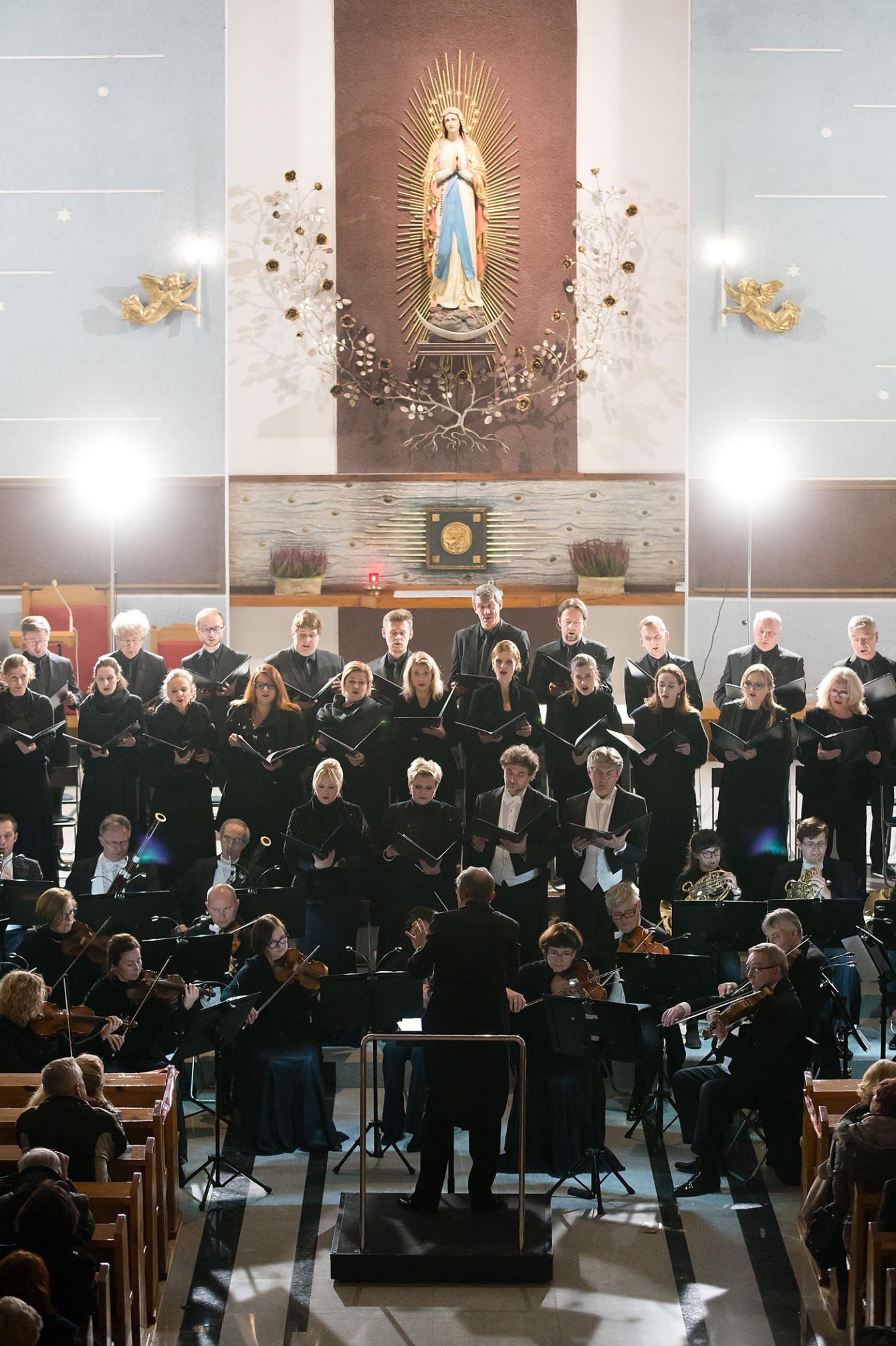 KONCERT MUZYKI SAKRALNEJ STANISŁAWA MONIUSZKI / 16.11.2019 Fot. Maciej Czerski
