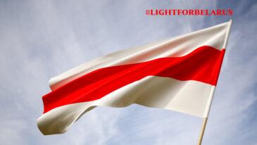 Akcja #lightsforbelarus